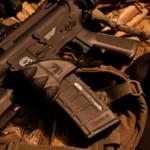 Seized Sub-machine Gun